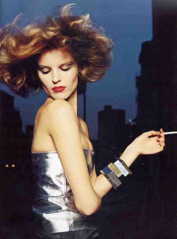 Eva Herzigova Mixte N°7 France Automne 1999 Terry Richardson