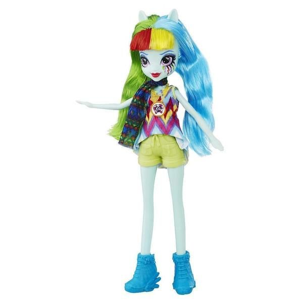 My Little Pony Equestria Girls 9 inch Legend of Everfree Doll - Rainbow Dash