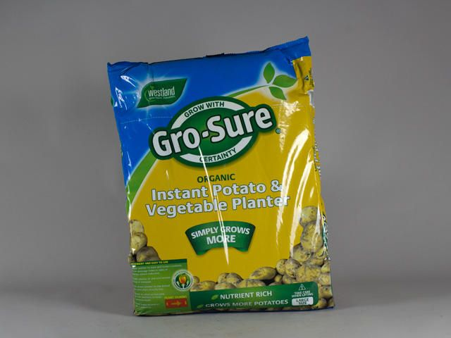 Gro-Sure Organic Instant Potato and Vegetable Planter #organic  #compost #soil #gardening