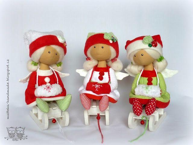 hand made by matteka: Christmas little angels