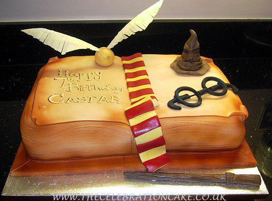 Nerdy Birthday Cake Ideas Harry Potter Bday Harry