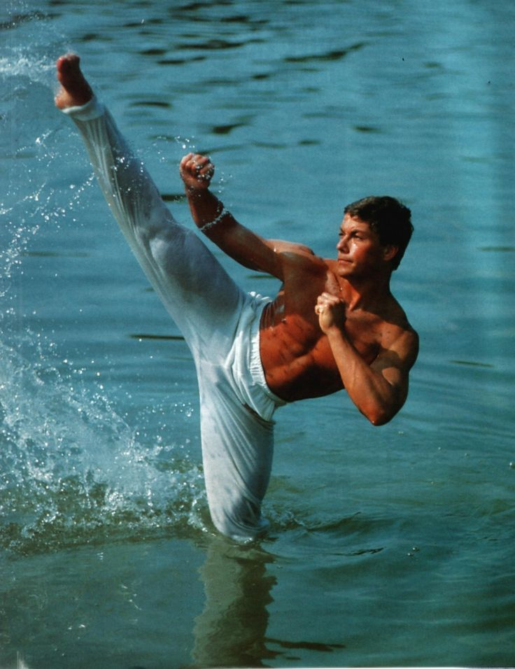 Jean Claude Van Damme. Not only a Hollywood face