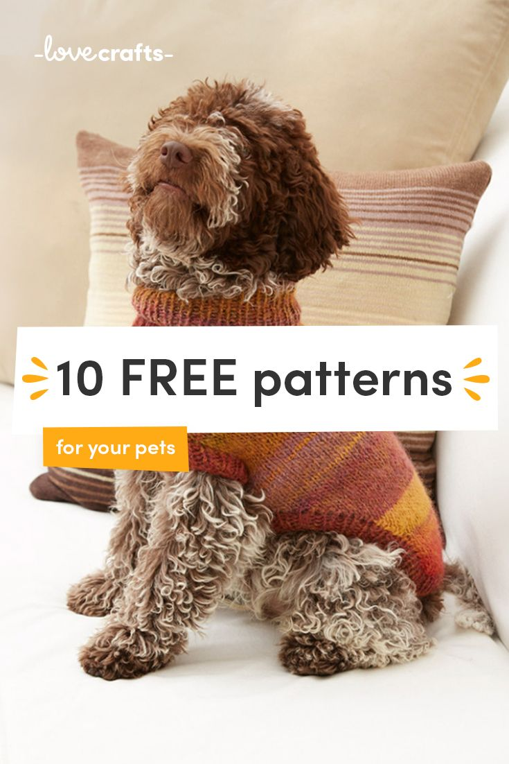 Signup To Download 10 Free Patterns To Knit Crochet And Embroider