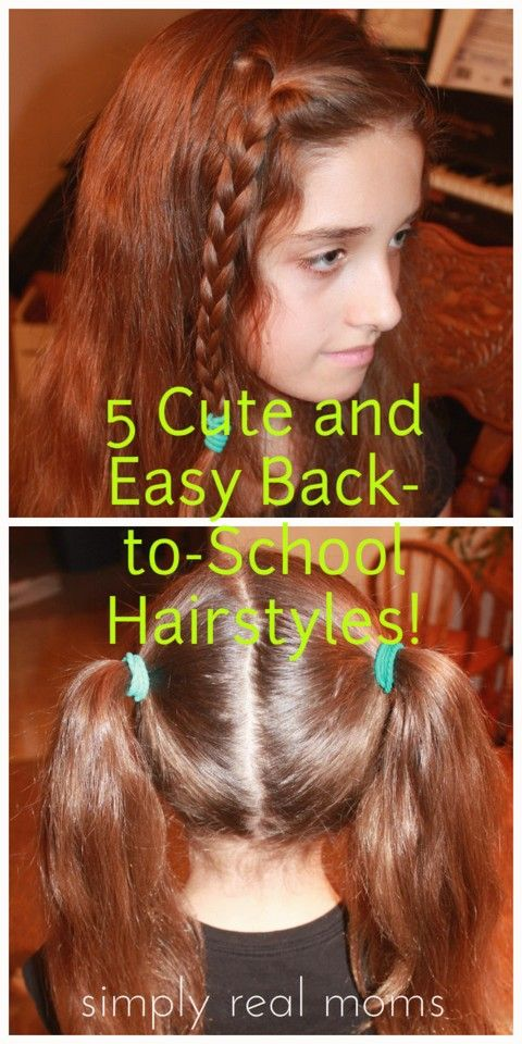 25+ Beautiful Hairstyles For School Girls Ideas On