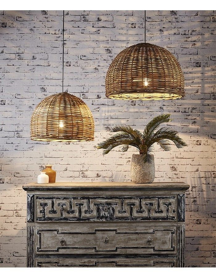 Pendant - Rattan Pendant Light Large
