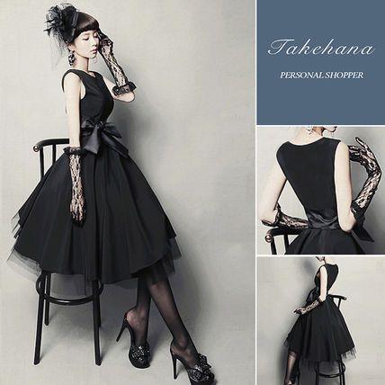 ドレス-ミニ・ミディアム 【関税込・日本未入荷】お呼ばれ 披露宴ドレス 大きいサイズ有り