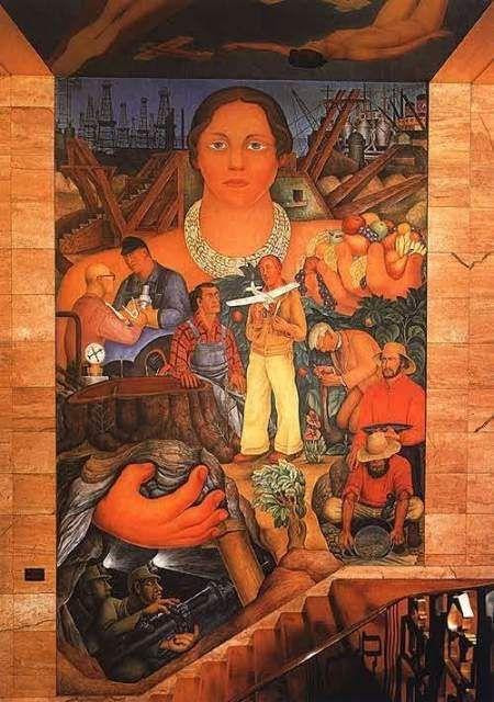 Alegoria de California. Diego Rivera, 1931