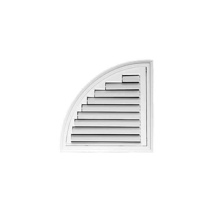 Quarter Circle #luxaflex #polyresinshutters #shutters #interior #design #luxaflexau