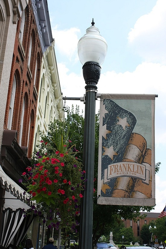 Franklin, Tennesse...Small town charm and southern hospitality.