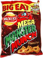 Packed full of flavour and must be eaten in the obligatory 'big eat' bags.