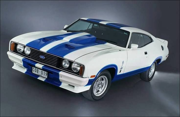 1977 XC Ford Falcon Hardtop. Limited release Cobra Edition.
