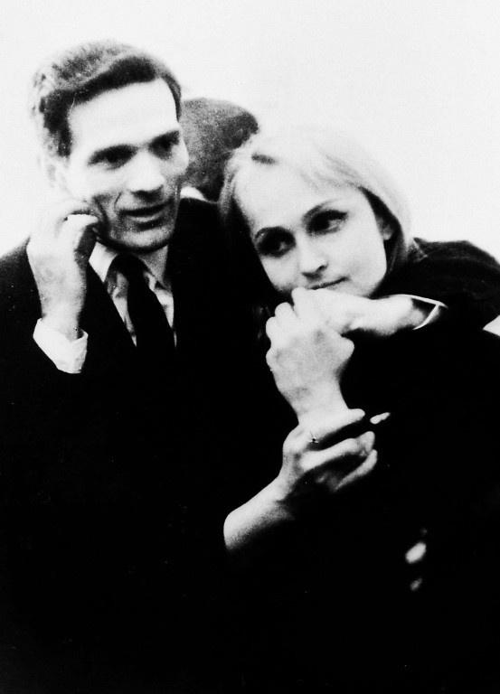 Pier Paolo Pasolini & Laura Betti, his muse.