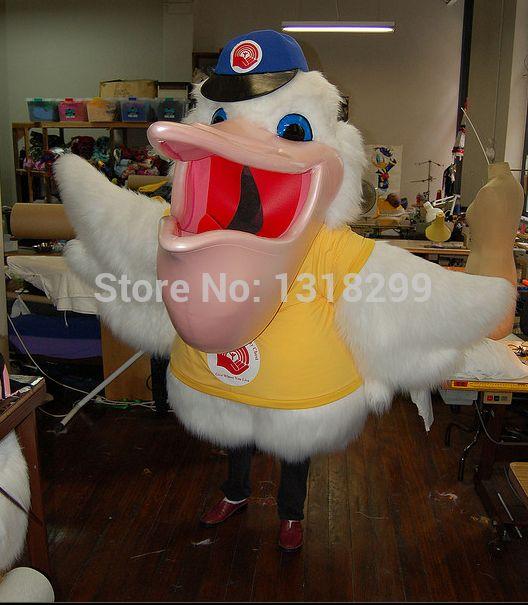 Талисмана парк пеликан птица костюм талисмана необычные платье на заказ необычные костюмы для косплея стиль mascotte карнавальный костюм комплекты