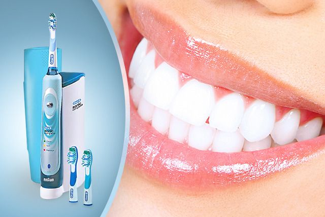 £79.99 instead of £249.99 (from JustShe) for an Oral-B Sonic Complete electric toothbrush with two Oral-B brush heads  - save 68%