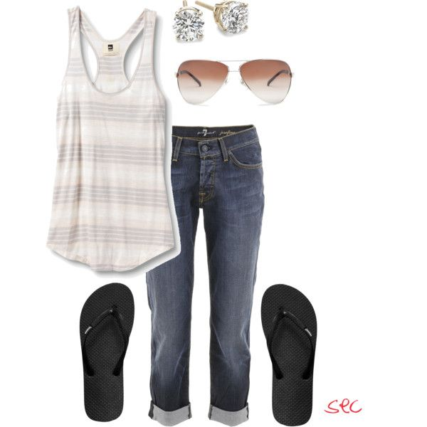 Summer casual, created by coombsie24 on Polyvore: Summer Casual, Dreams Closet, Design Clothing, Clothing Sho, Summer Style, Stylelik Fashionjewelri, Casual Looks, My Style, Simple Summer Outfits