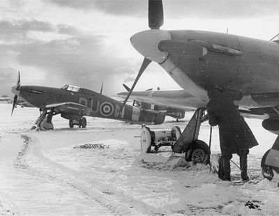 No. 312 squadron RAF Hurricanes