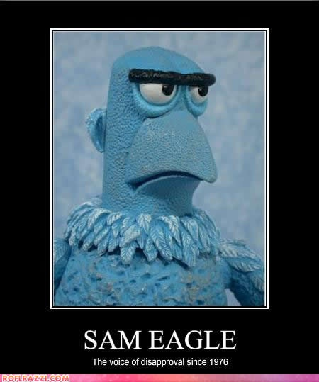 Quotes On The Muppets As Adult Oriented Characters: 17 Best Sam Eagle Images On Pinterest