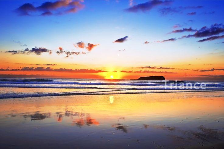 Sunrise Fingal Head.