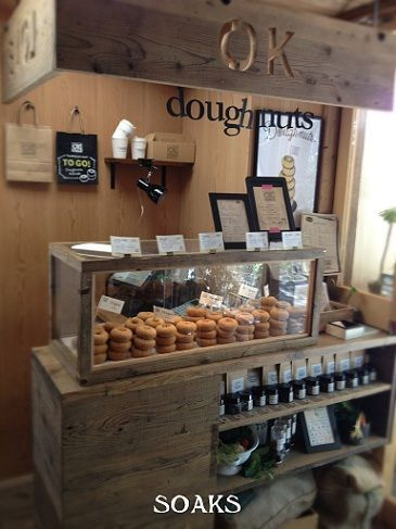 Find a small shop and have a coffee and doughnuts: