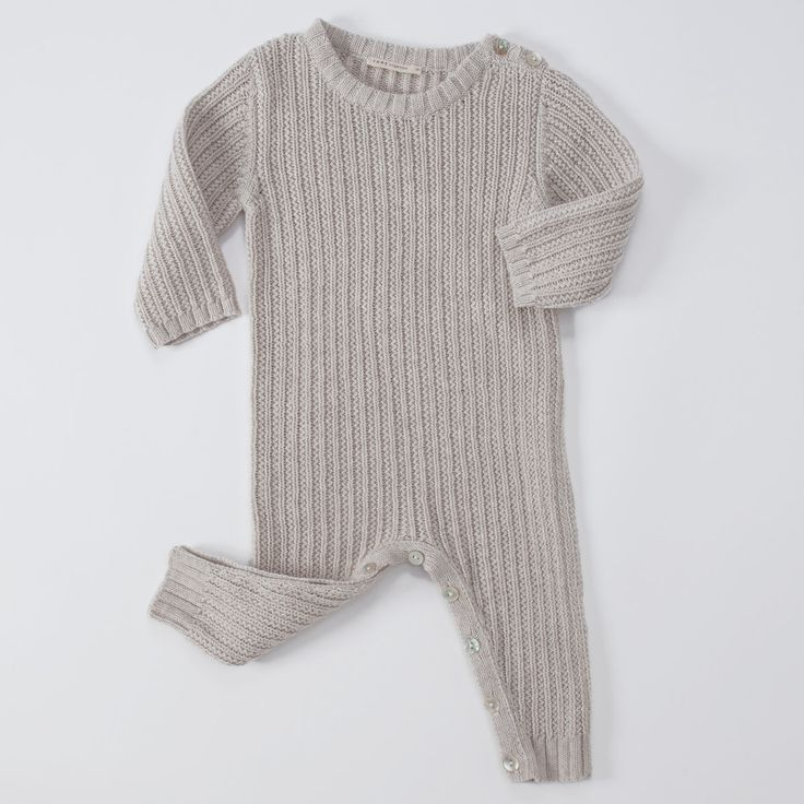 Luxurious Organic Infant and Baby Clothing: onesies : Track Stitch Coverall