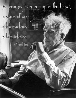 a poem... Robert Frost
