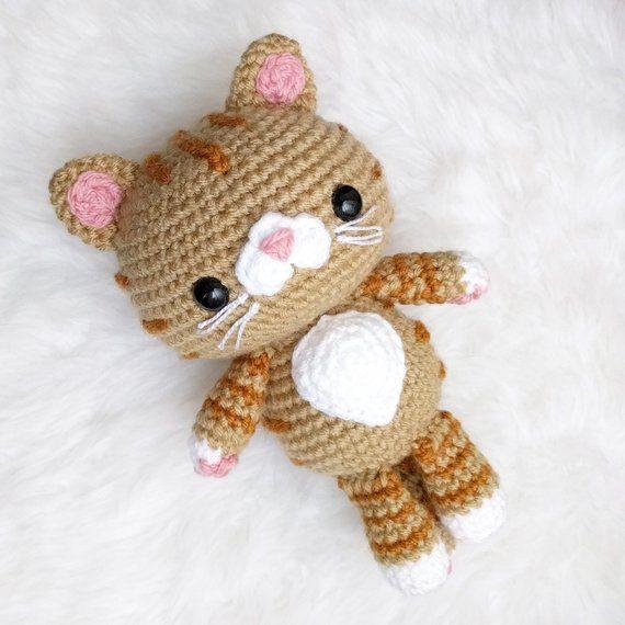 Pattern Bundle Crochet Kitty Cat Patterns 4 Amigurumi Cat Breeds In Siamese Tabby Calico Tuxedo Kitties Written In English Beginner In 2020 Cat Pattern Kitty Crochet Cat