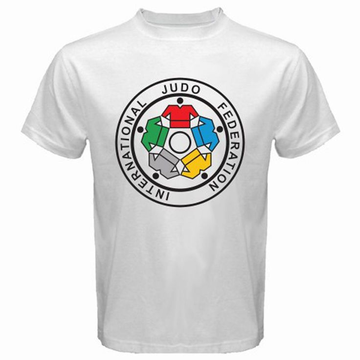 >> Click to Buy << New IJF International Judo Federation Logo Men's White T-Shirt Size S to 3XL Fashion T Shirts Summer Straight 100% Cotton #Affiliate