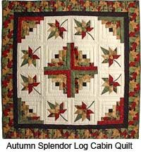 Amish Quilts- The autumn colors are warm and inviting.