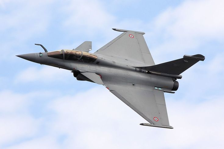"""Dassault Rafale - Dassault Rafale(French pronunciation:[ʁafal], literally meaning """"gust of wind"""",[7]and """"burst of fire"""" in a more military sense)[8]is a Frenchtwin-engine,canarddelta wing,multirolefighter aircraftdesigned and built byDassault Aviation. Equipped with a wide range of weapons, the Rafale is intended to performair supremacy,interdiction,aerial reconnaissance,ground support, in-depth strike, anti-ship strike andnuclear deterrencemissions. The Rafale is referred…"""