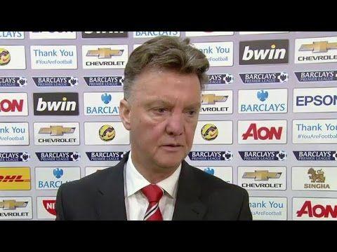 Man Utd 3-0 Hull City - Louis van Gaal Post Match Interview - Van Persie...