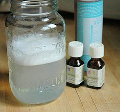 Coconut Oil Solution  Just three simple ingredients! 2 cups warm water 1 tbls coconut oil A squirt of baby wash