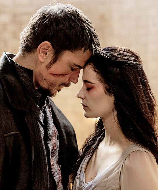 """Vanessa- """"With a kiss?"""" Ethan- """"With a kiss. With love?"""" Vanessa- """"With love."""" -Penny Dreadful"""