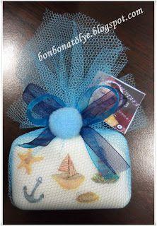 BONBON ATÖLYE: deniz temalı doğum günü sabunları