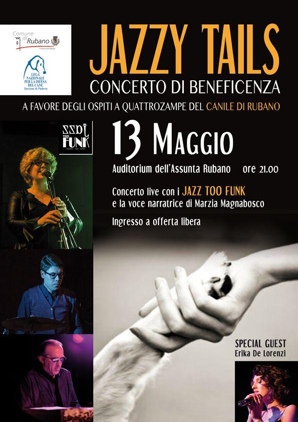 13/5 Concerto di #beneficenza a favore degli ospiti del #Rifugio di #Rubano (PD) #LNDC