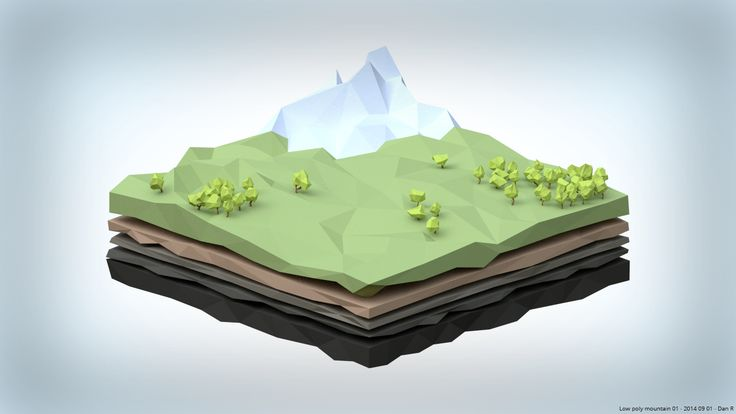 [Blender] Had a go at making a low poly scene. It was good fun working in this style! : low_poly