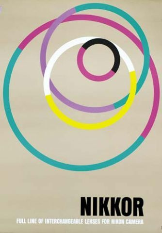 S H A P E shape / C O L O U R colour / overlap Graphic design by Yusaku Kamekura (亀倉 雄策)
