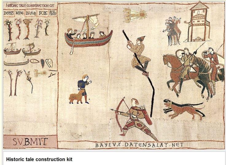 Besten embroidery bayeux tapestry bilder auf