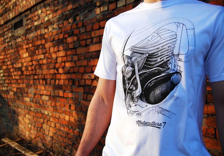 Yamaha DT250 1975 Motocultura7 t-shirt