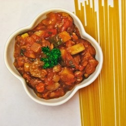 Meatless Bolognese Sauce