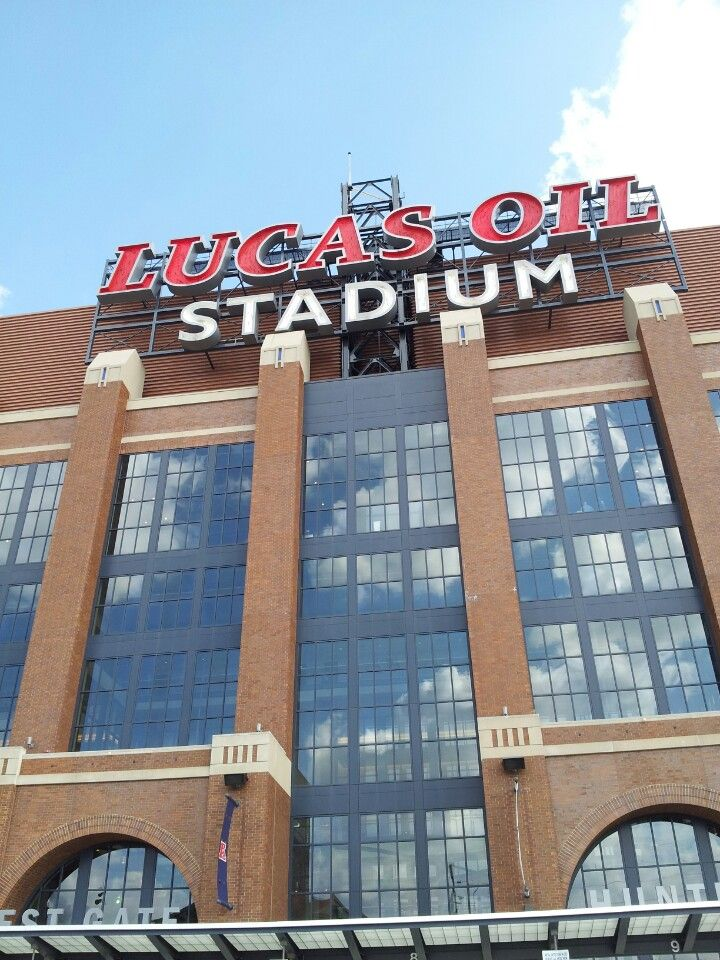 #Indianapolis Colts #football at Lucas Oil #Stadium