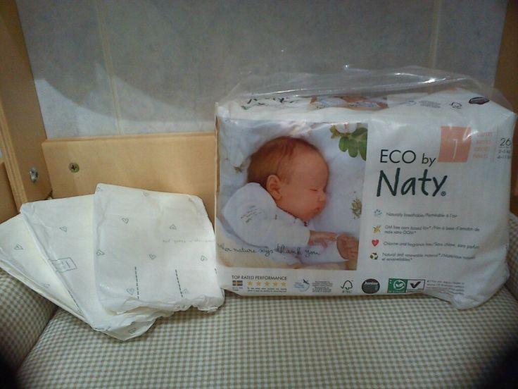 Test et avis couches écologiques naty pour les bébés