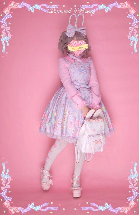 兔耳双肩包lolita原创日本可爱印花卡通少女日常学生通勤背包书包