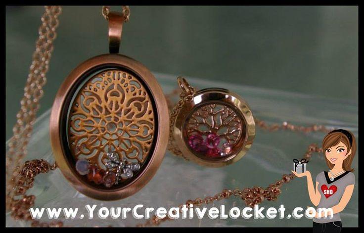 #SouthHillDesigns, #YourCreativeLocket, #giftideas,#rosegold, #lockets