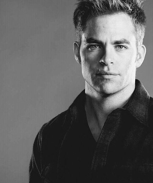 Chris Pine is my husband. Y'all can back the fuck off!:)