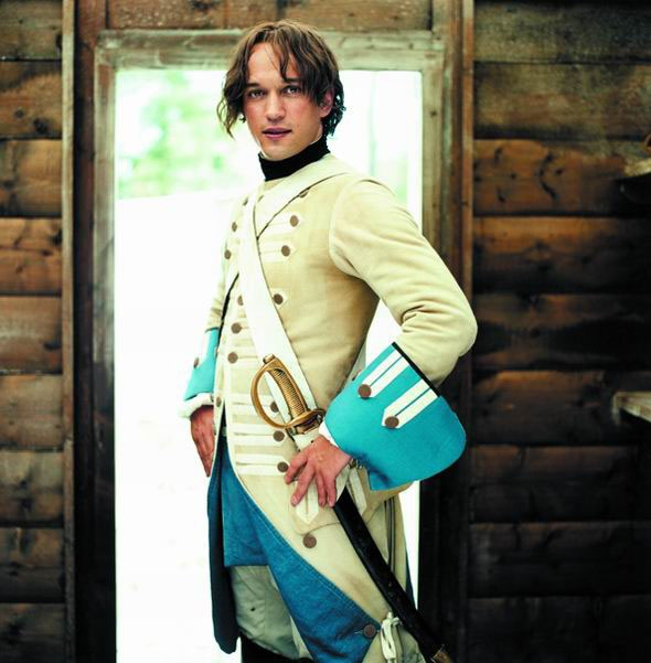 Vincent Perez in Fanfan La Tulipe. Swashbuckling adventure. Perez is the perfect hero.