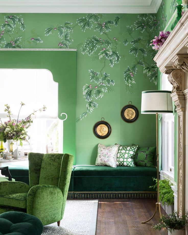 5 020 Likes 99 Comments De Gournay Degournay On Instagram And Here It Is