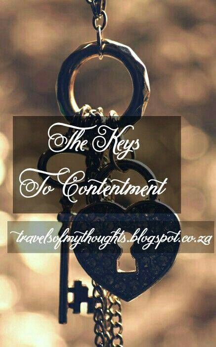 Keys to Contentment - Blogger - Articles - Islam -