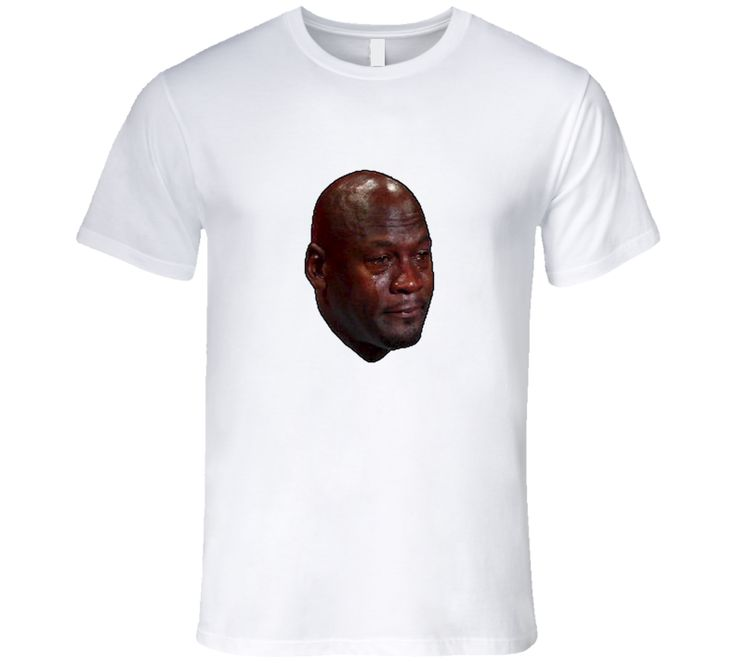 size 40 f438c b29c9 ... Michael Jordan Crying Meme Face, MJ Crying face, Michael Jordan Meme T  Shirt ...