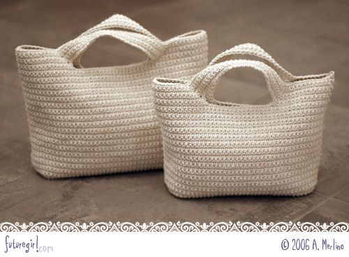 17 ideas of knitted and crochet bags that we could easily do now that summer is coming.