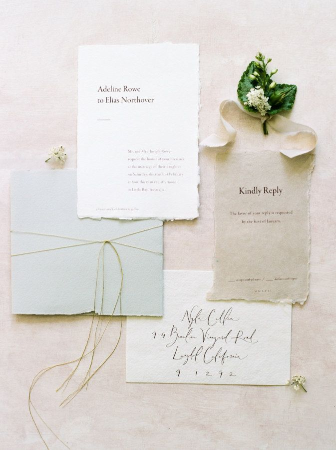 Grey wedding stationery: Photography: We Are Origami - http://weareorigami.com.au/